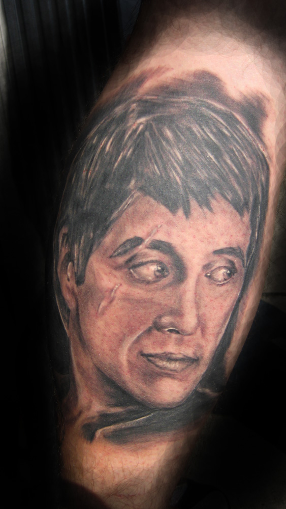 Tattoos? tony.scarface). scarface rapper