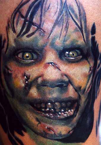 Keyword Galleries: Color Tattoos, Portrait Tattoos, Evil Tattoos, Movie