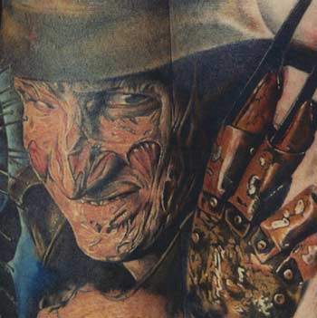 Movie Horror Tattoos, Realistic Tattoos, Custom Tattoos, Movie Tattoos