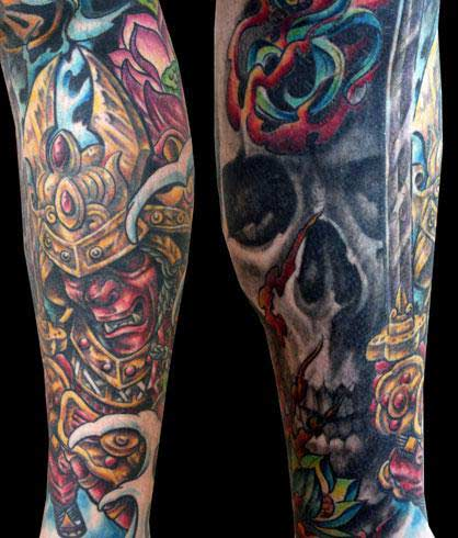 saves the day poster skull tattoo sleeves