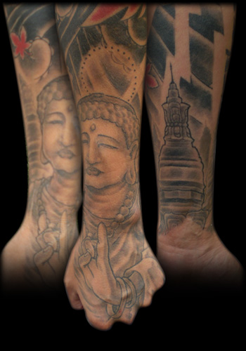 Looking for unique Religious tattoos Tattoos? Buddha Hand - Freehand