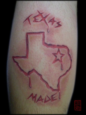Texas Tattoo | Mike Bennett by Mike Bennett Tattoo