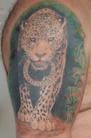 leopard tattoos