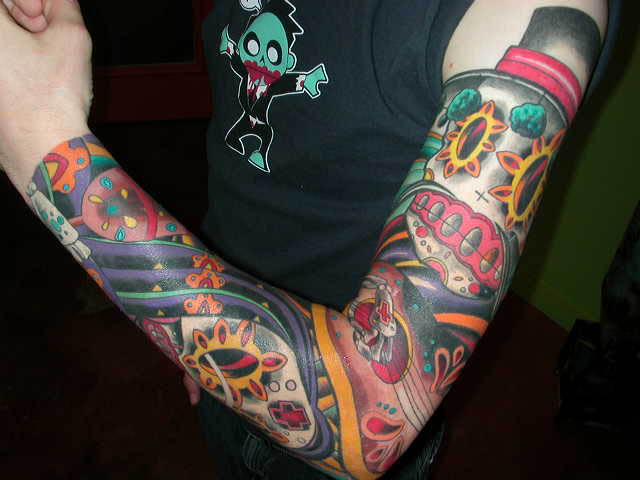 day of the dead tattoos. Day of dead tattoos are one