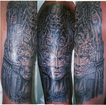 Looking for unique Tattoos? H.R. GIGER