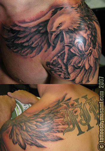 philadelphia eagles tattoo. eagles tattoos.