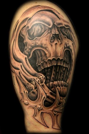 Betty Mexican Skull Tattoo by