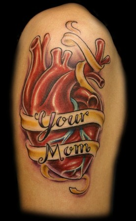 tattoos for moms. or depict mom tattoos.
