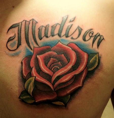 Joey rodriguez tattoonow for Laser tattoo removal madison wi