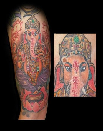 ganesha tattoo. Posted by skynet at 3:24 AM
