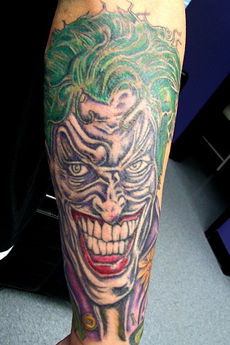 Hellkey - Joker Tattoo