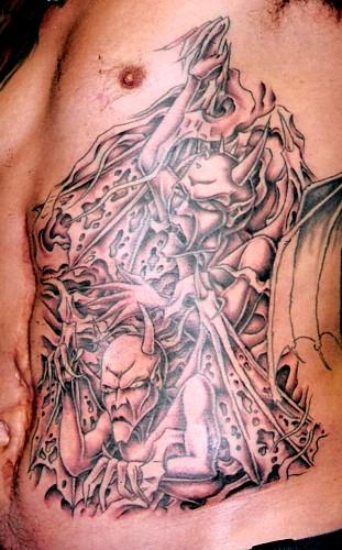 Sean Ohara - Demons. Tattoos