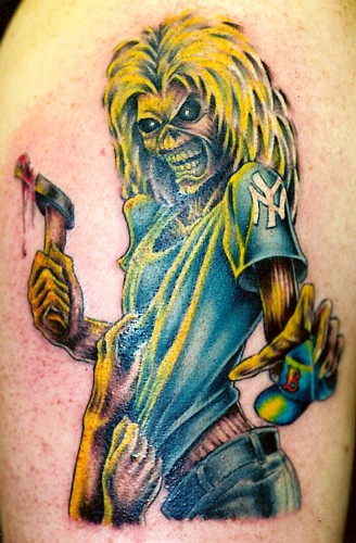 Comments: Eddie from Iron Maiden. Keyword Galleries: Color Tattoos,