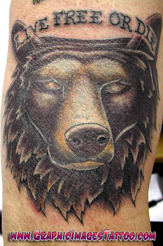 grizzly bear tattoos. Coverup Tattoos. Grizzly Bear