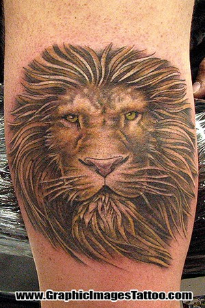 Sean Ohara - Lion Large Image · Tattoos