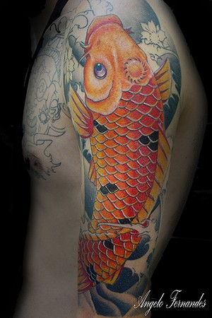 tattoo carpa. Tattoos. Color Tattoos