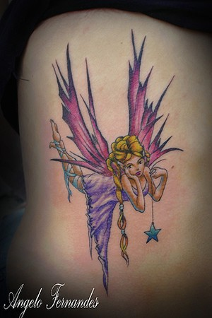Color Tattoos. Fairy. Now viewing image 51 of 255 previous next