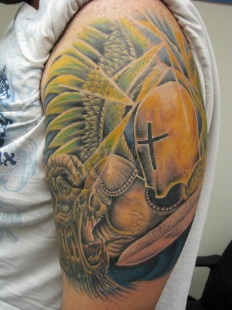 StMichael.jpg St Michael Prayer image by soojin12548. Graphic Images Tattoo and Body Piercing : Tattoos : Religious :