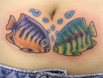 Looking for unique tattoos fish for Tattoo shops in wichita falls tx