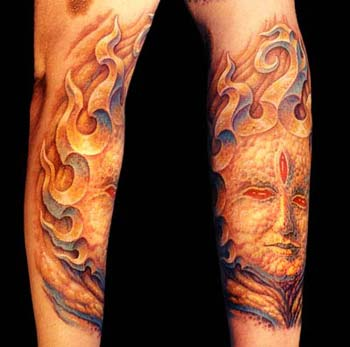 Tattoos · Guy Aitchison. Stone Face. Now viewing image 0 of 100 previous