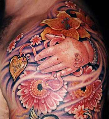 Tattoos · Guy Aitchison. Daddy Locket. Now viewing image 36 of 100 previous