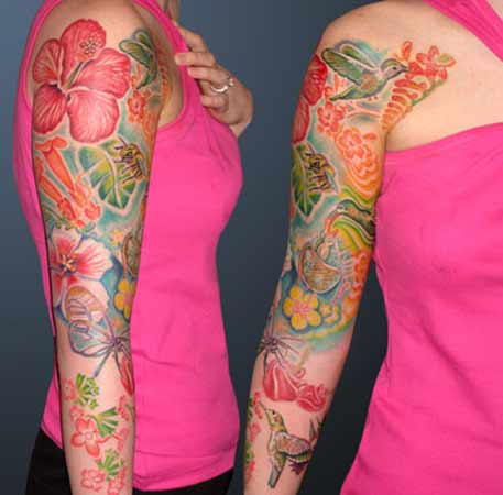 tattoo flowers. Flower Tattoos,