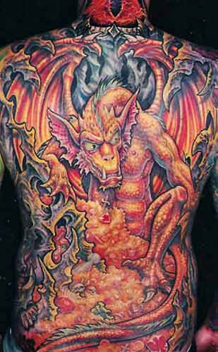 Keyword Galleries: Color Tattoos, Fantasy Tattoos, Movie Sci Fi Tattoos,