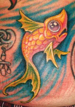 Fish Tattoo - MonsterFishKeepers.com