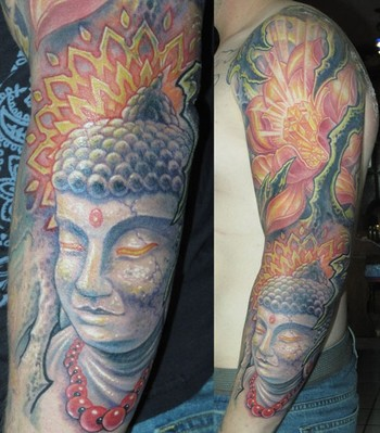 budda tattoos. udda tattoos
