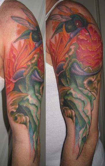 Jason Maybruck - tropical tattoo