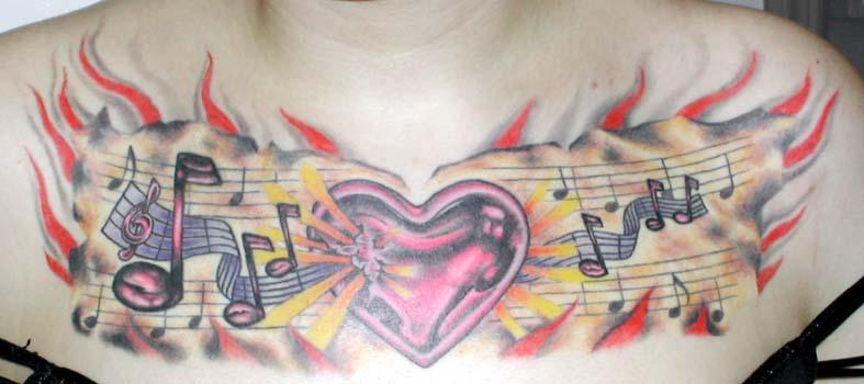Tattoos jay crockett i love music for Jay crockett tattoo