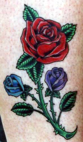 tattoos jay crockett roses