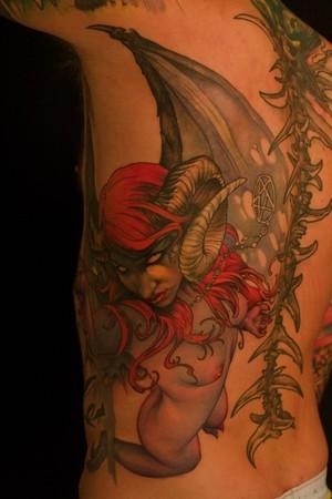 Evil Savanna Custom Tattoos