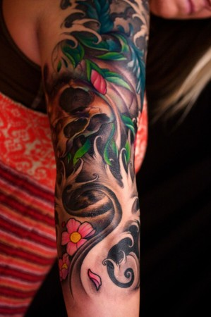 Next of my Japanese Sleeve Tattoos is this beautiful Japanese Sleeve Dragon