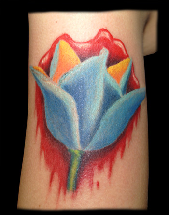 Flower Tulip Tattoos. Tulip. Now viewing image 2 of 2 previous next