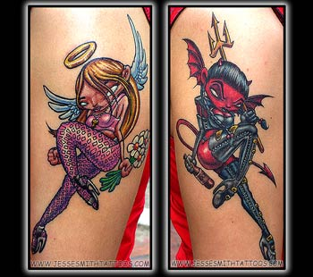 Amazing Tattoo Designs Especially Ghotic Tattoos Picture