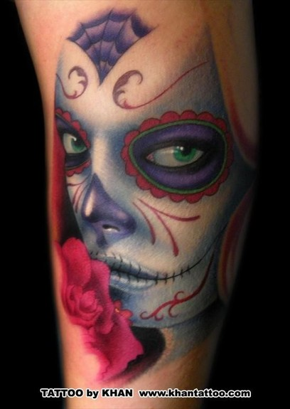 Looking for unique Tattoos? Day of the Dead Tattoo
