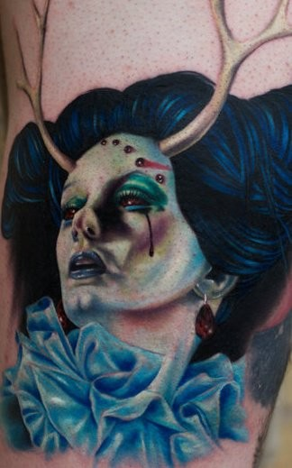 Surprisingly, this Mick Mars tattoo isn't on a Motley Crue super-fan - it's