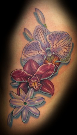 orchid tattoos google tattoos. Black Bedroom Furniture Sets. Home Design Ideas