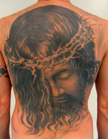 Size:319x640 - 50k: Tattoos of Jesus