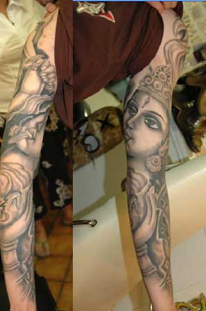 tattoo tribal sleeves. Tribal Tattoos. Full Sleeave.