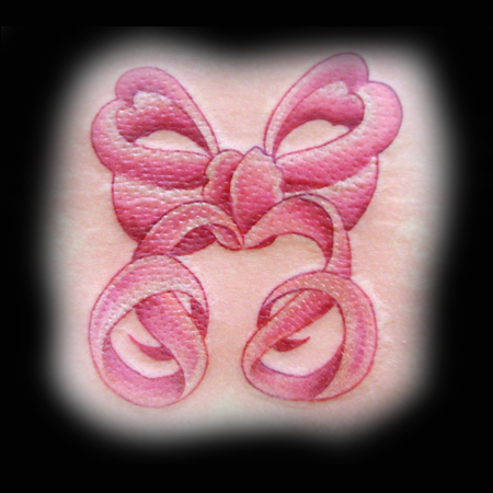 Looking for unique Original Art tattoos Tattoos? Rachel's Pink Bow Tattoo