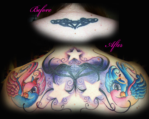 Looking for unique Nature Star tattoos Tattoos? Detroit Motor City Bird's