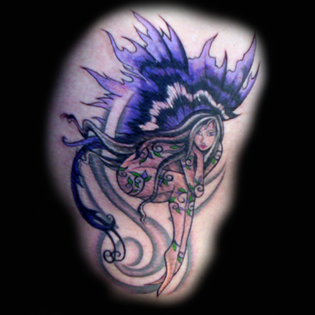 Looking for unique Flower Vine tattoos Tattoos? Vine Fairy