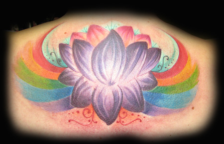 Looking for unique Flower tattoos Tattoos? Calgary Rainbow Lotus