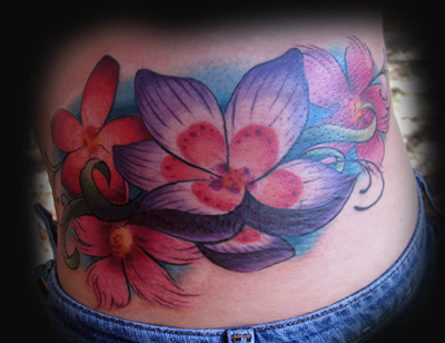 Looking for unique Flower tattoos Tattoos? Flowers Click to view large image