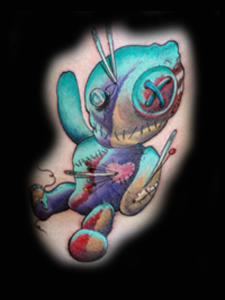 Looking for unique Tattoos? VooDoo Doll Tattoo Click to view large image