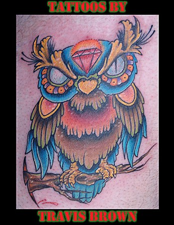 Tatto Studios on Lucky 7 Tattoo Studio   Tattoos   Page 3   Owl Tattoo