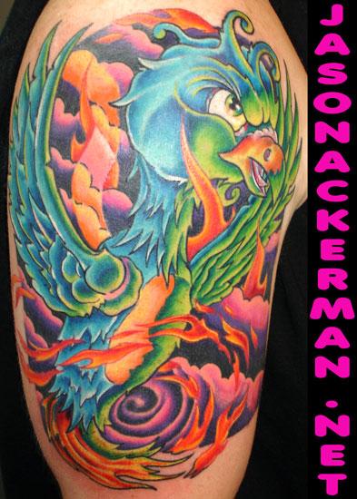 Phoenix tattoo tattoos for Jason ackerman tattoo
