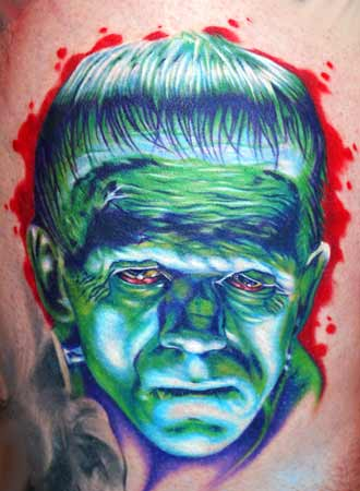 Movie Horror Frankenstein Tattoos